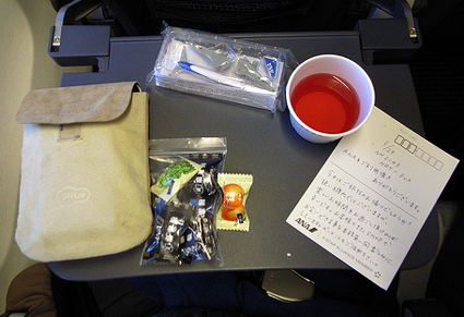 airplane freebies