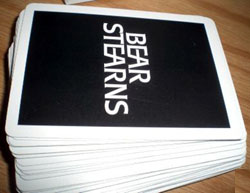 bear stearns card deck