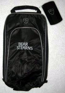 bear-stearns golf shoe bag