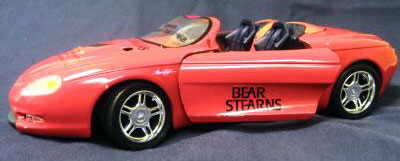 bear stearns model car