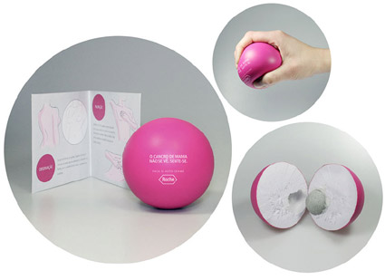 breast-cancer-stress balls