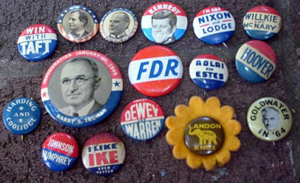 campaign collecting