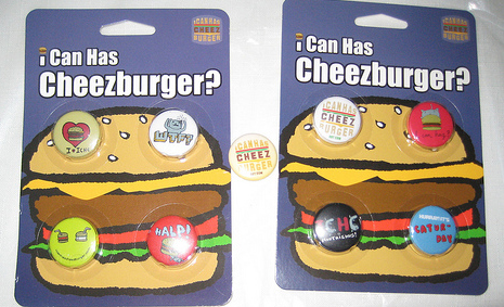 i can haz cheezburger magnets