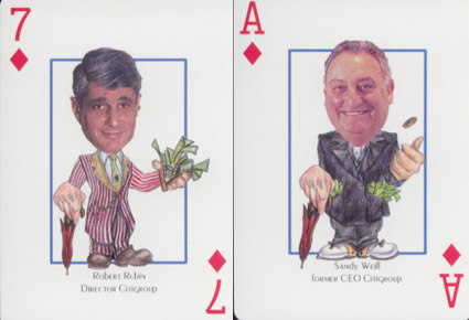 citigroup-playing cards