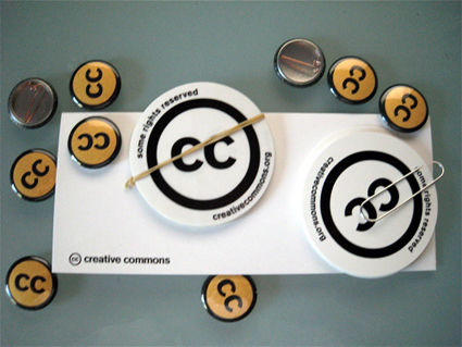 creative commons buttons