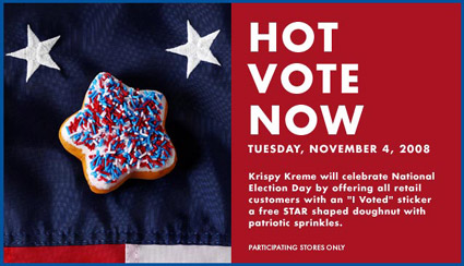 election-krispy kreme