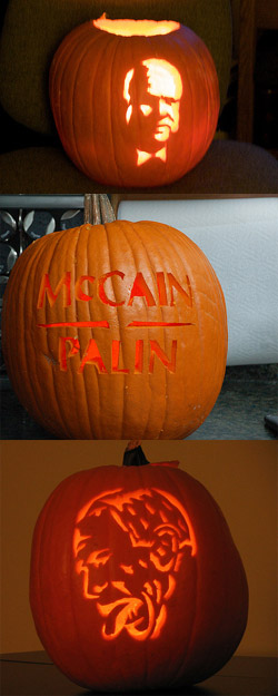 election-mccain pumpkins