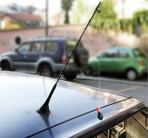 Car Antenna Fishing Rod