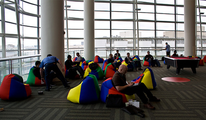 Google Bean Bag Chairs Tech That Goos Epromos Promotional