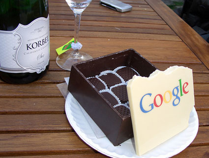 google chocolate