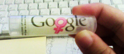 google-female chapstick