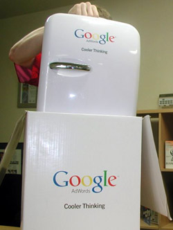 google-mini fridge