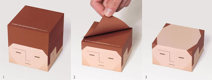 hair-loss-memo pad