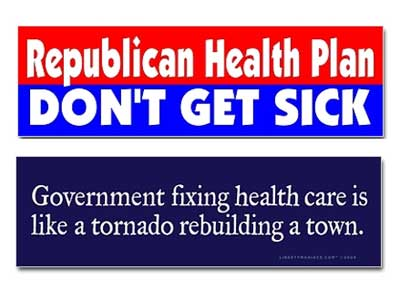 health-care-bumper stickers