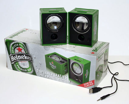 heineken speakers
