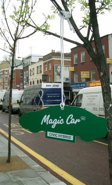 magic car
