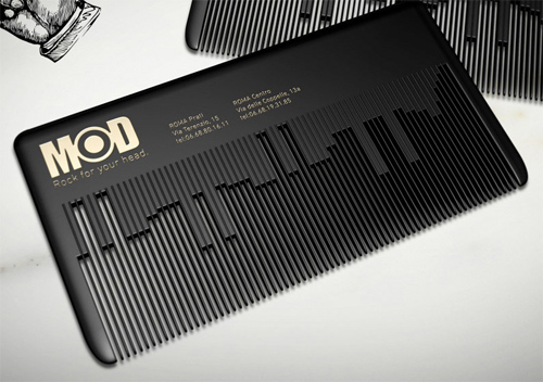 Musical comb business cards epromos promotional blog modhair business card musical comb colourmoves Choice Image