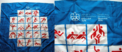 olympics montreal 76 scarf