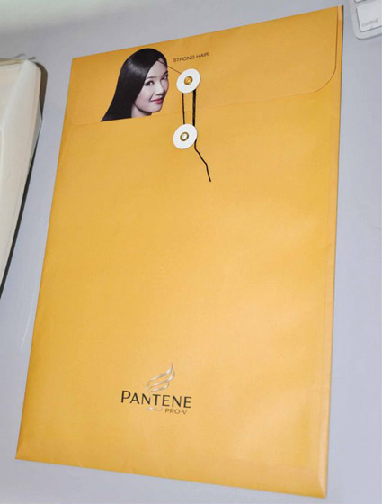pantene-hair envelope
