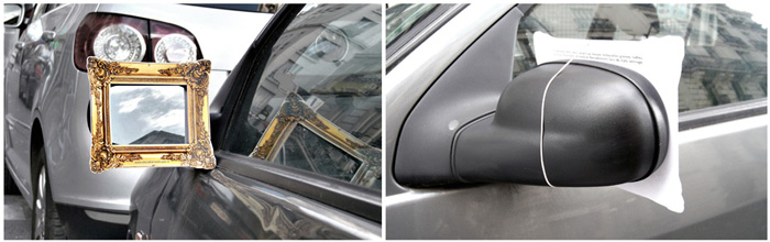 picture-frame-car mirror