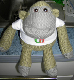 promotional-sock monkey