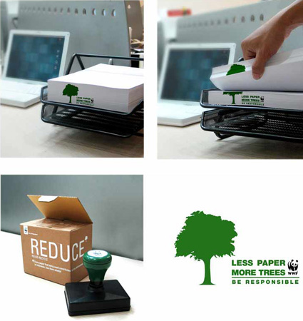 reduce-paper-use stamp
