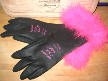 rubber-glove promos