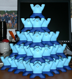 stress-man pyramid