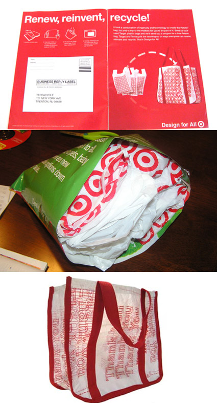 terracycle-target bag