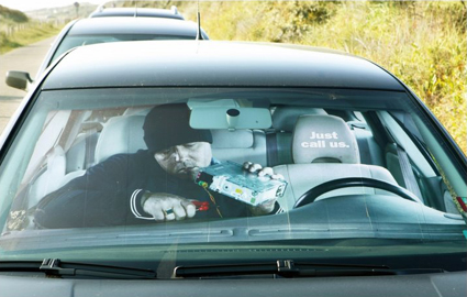 thief-car-sun shade