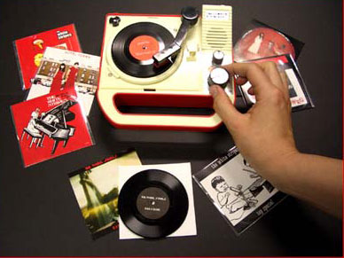 three-inch-record player