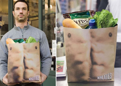 wheaties bag looks like six pack abs