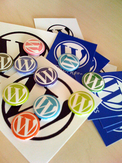 wordpress-buttons stickers