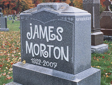 wrong-font tombstone