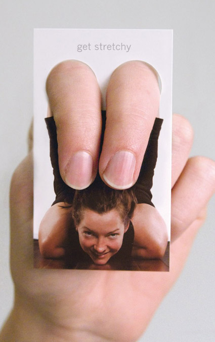 yoga-business card