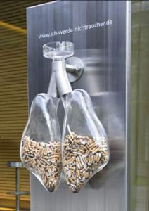 Clear-Ashtray-Promotes-Healthy-Lungs