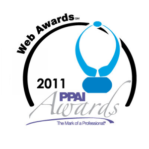 2011 ppai web awards logo