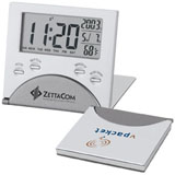 promotional travel alarm clock