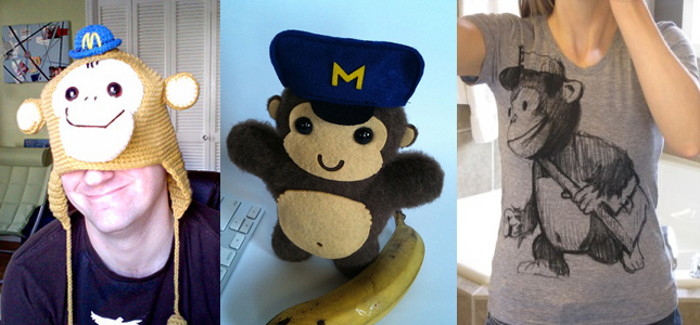 mailchimp giveaways: shirts, hats, and plushies