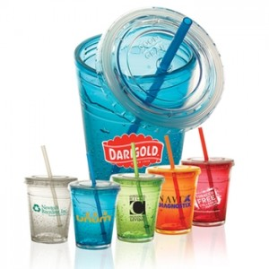personalized straw cup