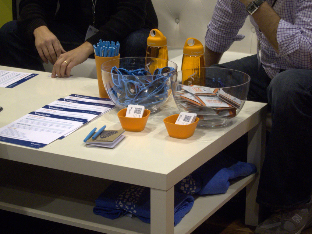 Exhibition Display Table : Tradeshow booths made better by promo products epromos