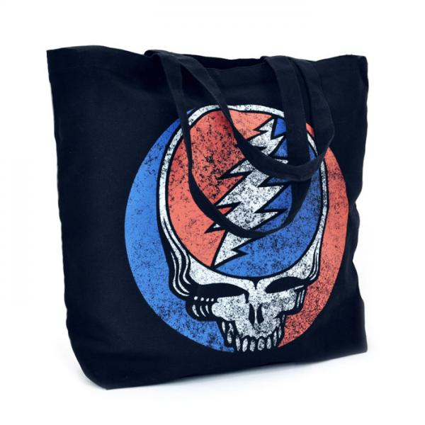 Grateful Dead custom tote bag