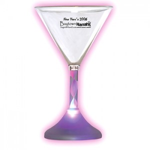 custom martini glass