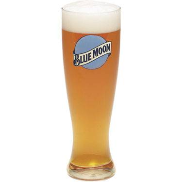Blue Moon Custom Pilsner Glass