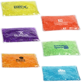 Aqua pearls promotional hot and cold pack