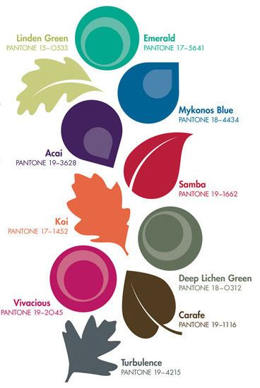 Pantone's Fall Fashion Colors 2013