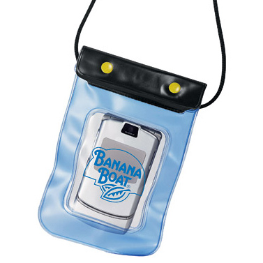 waterproof imprinted cellphone pouch