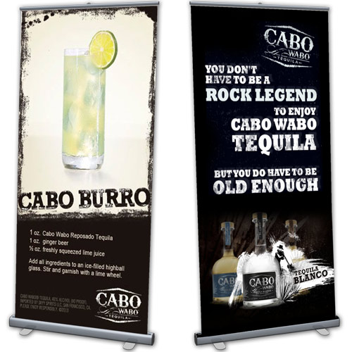 roll-up vinyl banners