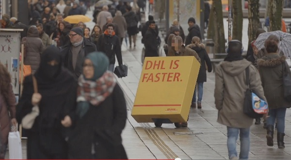 DHL guerilla marketing