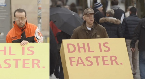 DHL marketing